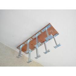Suspente accroche-tableau Étend'Art de 8 emplacements standards de 21 mm