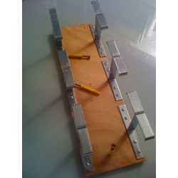 Suspente accroche-tableau Étend'Art de 6 emplacements XL de 50 mm